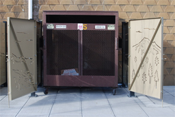 Single Dumpster Corral Model 30-101