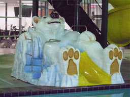 Large Polar Bear Model 1800-04