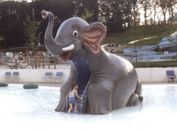 Giant Elephant Slide Model 1800-14