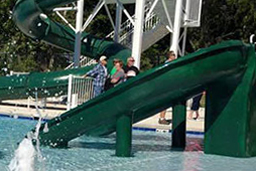 Double Flume Slide Model 1800-81