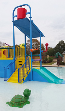 Water Play Structure Model 2702-107