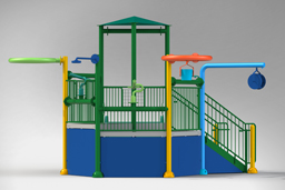 Water Play Structure Model 2706-103