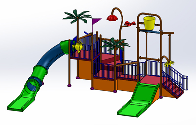 Water Play Structure Model 2707-101