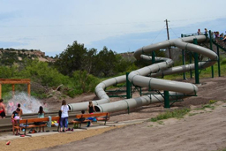 Double Flume Hillside Slide Model: Ceta Canyon