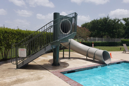 Single Flume Pool Slide Model 1676