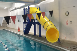 Single Flume Pool Slide Model 7006