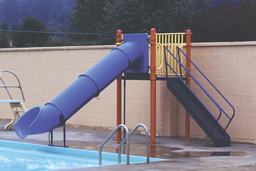 Single Flume Pool Slide Model 0072