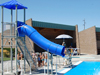 Drop Slide Pool Slides
