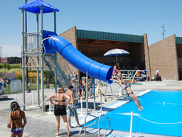 Drop Slide Pool Slide Model 5008