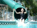 Single Flume Pool Slide Model 7008