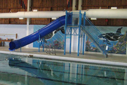Single Flume Pool Slide Model 9208