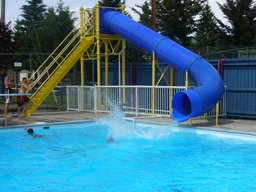 Single Flume Pool Slide Model 9210