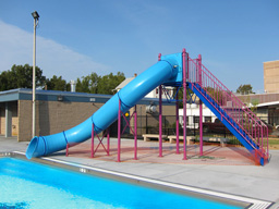 Single Flume Pool Slide Model 9211