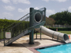 Polyethylene Flume Water Slide Model 1676