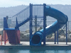 Closed Fiberglass Flume Water Slide Model 1677-32
