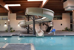Fiberglass Flume Water Slide Model 1922
