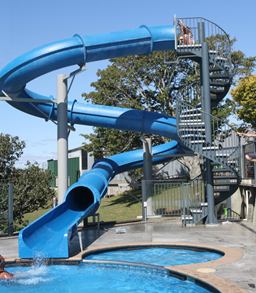 Water Slides: Entry Height 18' to 18' 11""
