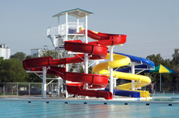 Water Slides: Entry Height over 20'