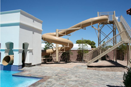 Custom Polyethylene Flume Water Slide Model 1684