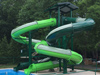 Double Fiberglass Flume Water Slide Model 1649-32