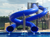 Double Flume Water Slide Model 1667