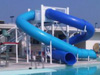 Double Flume Water Slide Model 1678