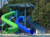 Double Flume Water Slide Model 1687