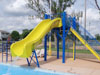 Fiberglass Drop Slide Water Slide Model 1801