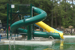 Triple Flume Water Slide Model 9120