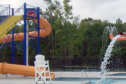 Closed Flume Fiberglass Water Slide Model 2046