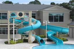 Water Slides: Entry Height 16' to 16' 11""