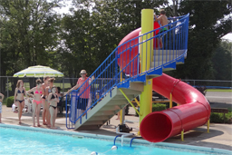Aquatics: Pool slides, Water slides, Landscape slides, and Aqua Play