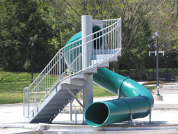 Polyethylene Flume Water Slide Model 1663