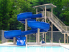 Fiberglass Flume Water Slide Model 1830