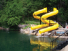 Double Polyethylene Water Slide Model 9433