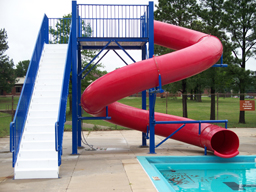 Polyethylene Flume Water Slide Model 1616