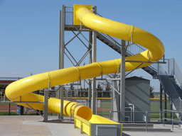 Polyethylene Flume Water Slide Model 1617