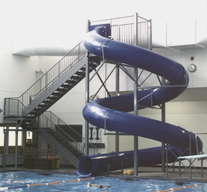 Polyethylene Flume Water Slide Model 1631