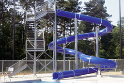 Polyethylene Flume Water Slide Model 1632