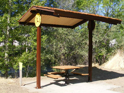 Sentinel Mountain Rain/Shade Shelter Model 98-100