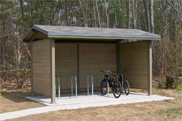 Sentinel Mountain Bike Rack Shelter Model 98-117