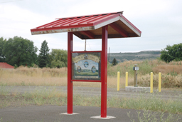 Sentinel Mountain Kiosk Shelter Model 98-74 SP