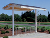 Sentinel Mountain Bike Rack Shelter Model 98-90