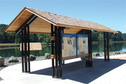 Sentinel Mountain Kiosk Shelter Model 98-92