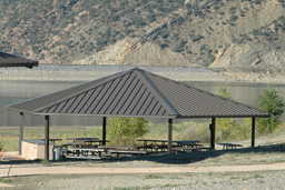 White Mountain Hexagon Shelters